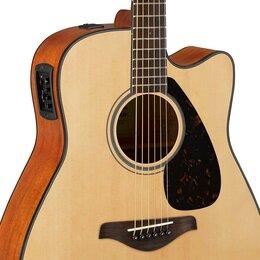 Акустические и классические гитары - Yamaha FGX800CN Гитара электроакустическая…, 0