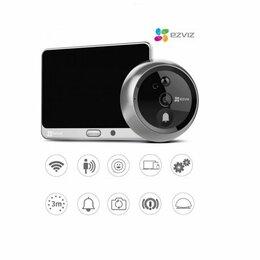 Системы Умный дом - Ezviz DP1C Wi-Fi дверной глазок и ответная станция, 0