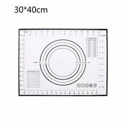 Кондитерские аксессуары - Силиконовый термостойкий коврик для раскатки и…, 0