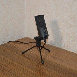 Микрофоны и усилители голоса - Конденсаторный микрофон Fifine K669B. Беспл. дост., 0