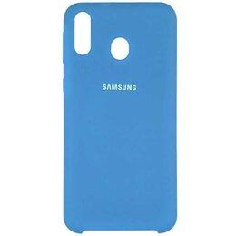 Чехлы - Silicon case Samsung Galaxy A30 Blue, 0