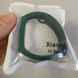Аксессуары для умных часов и браслетов - 🔥 Новый зелёный сменный ремешок на фитнес-браслет Xiaomi Mi Band 5, 0