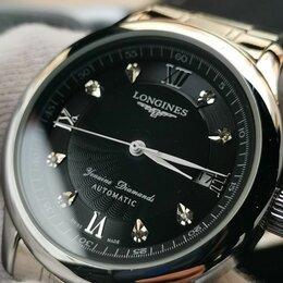 """Наручные часы - Новые механические часы """"Longines Genuine Diamonds Automatic"""", 0"""