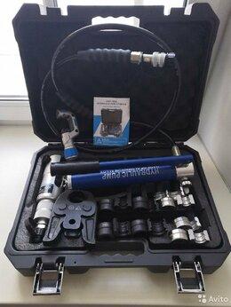 Сантехнические, разводные ключи - Пресс клещи гидравлика с насосом и насадками TH+V, 0