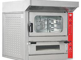 Жарочные и пекарские шкафы - Печь комбинированная Empero EMP.PFE.4+5-Y-B, 0