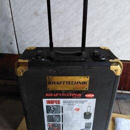 Наборы инструментов и оснастки - Набор инструментов 188 предметов КТ-11188RSBGS в чемодане на колёсиках, 0
