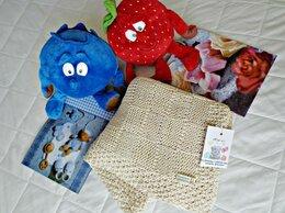 Покрывала, подушки, одеяла - Плед детский вязаный новый, 0