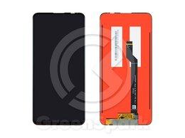 Дисплеи и тачскрины - Дисплей для Asus Zenfone 6 ZS630KL +тач черный, 0