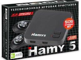 Игровые приставки - Игровая приставка 8 bit + 16 bit Hamy 5 (505 в…, 0