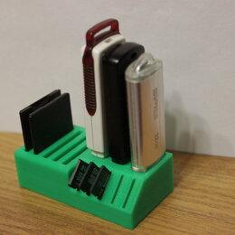 Кронштейны, держатели и подставки - Органайзер для флешек USB и SD карт, 0