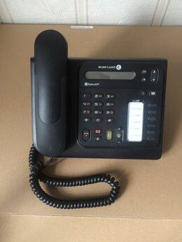 VoIP-оборудование - Alcatel-Lucent 4008IP телефон, блок питания, 0
