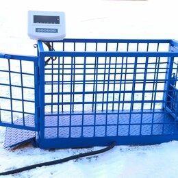 Прочие товары для животных - Весы для животных. Напольные весы для КРС ВП-С 500 кг, 0