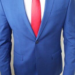 Галстуки и бабочки - Мужской галстук красного цвета на свадьбу, 0