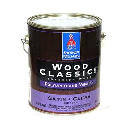 Лаки - Sherwin Williams Wood Classics Лак на водной…, 0