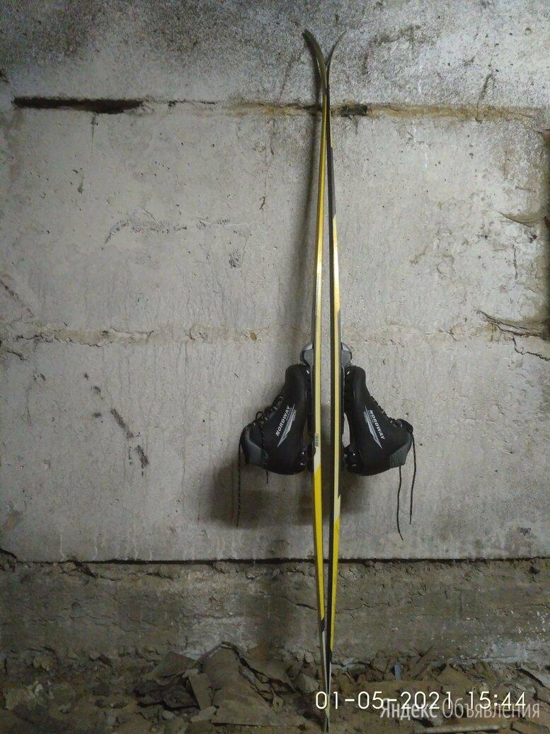 """Лыжи """" Atemi"""" профессиональные с ботинками по цене 1350₽ - Беговые лыжи, фото 0"""