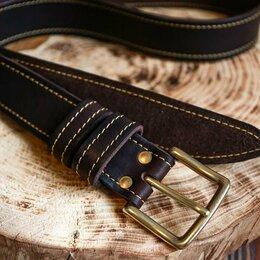 Ремни и пояса - Ремень мужской кожаный мужской , 0