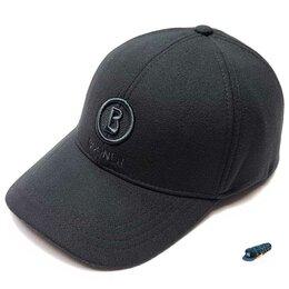 Головные уборы - Бейсболка кепка мужская Bogner утеплённая (черный), 0