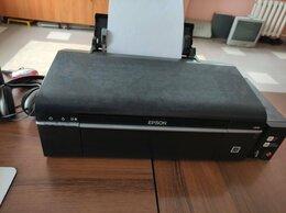 Принтеры и МФУ - Принтер Epson L800 заводской СНПЧ рабочий…, 0