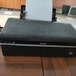 Принтеры, сканеры и МФУ - Принтер Epson L800 заводской СНПЧ рабочий печатает 10000 копий, 0
