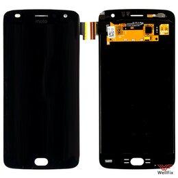 Дисплеи и тачскрины - Дисплей для Motorola Moto Z2 Play в сборе черный, 0