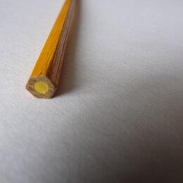 Рукоделие, поделки и сопутствующие товары - 900 желтых карандашей для поделок одним лотом, 0