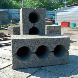 Строительные блоки - Блоки строительные, Керамзитоблоки высокопрочные, 0