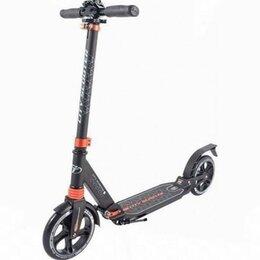 Самокаты - Самокат Tech Team City Scooter черный, 0