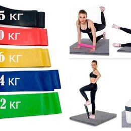 Эспандеры и кистевые тренажеры - Фитнес-резинка Ленточный набор резинок для фитнеса различной нагрузки, 5 шт., 0