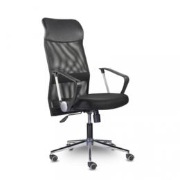 Компьютерные кресла - Офисное кресло Директ Люкс МС-040 В хром, 0