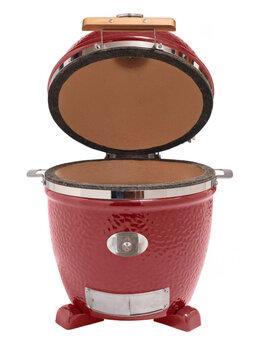 Грили, мангалы, коптильни - Керамический гриль MONOLITH JUNIOR RED S, 0