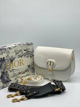 Сумки - Женская сумка Christian Dior Bobby белая из…, 0