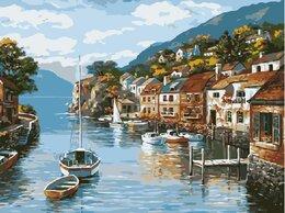 Картины, постеры, гобелены, панно - Картина по номерам Прекрасная Италия 40*50, 0