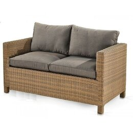 Плетеная мебель - Плетеный диван S59B-W65 Light Brown, 0