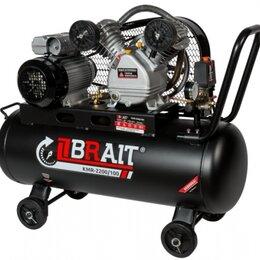 Воздушные компрессоры - Компрессор воздушный BRAIT КМR-2200/100, 0