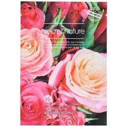 Маски и сыворотки -  Листовая маска Secret Nature Sheet Mask Роза, 0