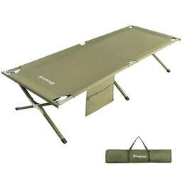Походная мебель - Кровать складная  KING CAMP(сталь). 3039/2011 Hard Camping Cot L , 0