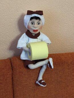 Рукоделие, поделки и товары для них - Кукла-держатель туалетной бумаги, 0