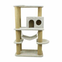 Когтеточки и комплексы  - Домик для кошки, игровой комплекс для кошки, 0