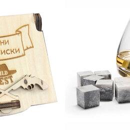 Аксессуары - Камни для виски в деревянной упаковке Wild West, 0