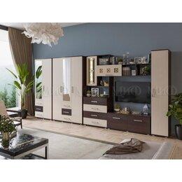 Шкафы, стенки, гарнитуры - Гостиная Белла Дуб беленый Вариант №2, 0