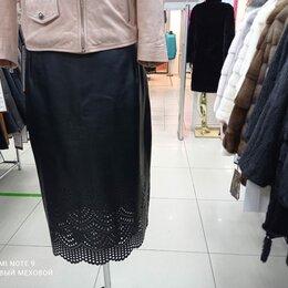 Платья и юбки - Юбка из эко кожи, 0