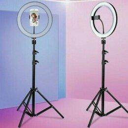 Фотовспышки - Штатив 190 см. с кольцевой лампой 26 см., 0