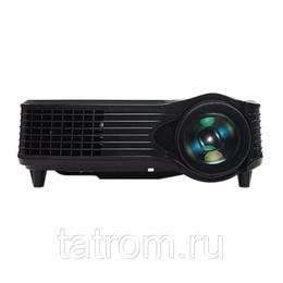 Проекторы - LED мини-проектор 2000 люменов 1280 х 800 пикселей Full HD 1080P Media Player, 0