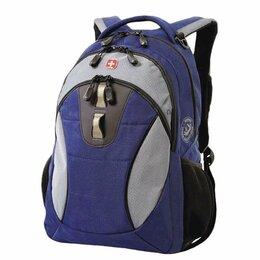 Рюкзаки - Рюкзак WENGER, универсальный, сине-серый, 22 л,…, 0