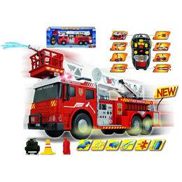 Машинки и техника - Пожарная машина на пульте 62 см, свет + звук Dickiе, 0