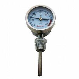 Мерные ёмкости и сита - Термометр КРУГЛЫЙ РАДИАЛЬНЫЙ (вертикальный) , 0