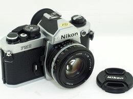 Пленочные фотоаппараты - Фотоаппарат Nikon FM2N с объективом Nikon Nikkor…, 0