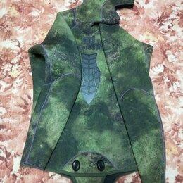 Гидрокостюмы - Куртка гидрокостюма Aquadiscovery Кочевник Green. Толщина 9 мм., 0