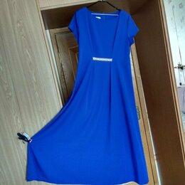 Платья - Платье вечернее длинное летнее. Размер 54-56, 0