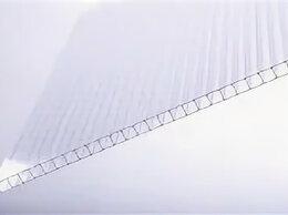 Поликарбонат - Сотовый поликарбонат 6 мм прозрачный, 0